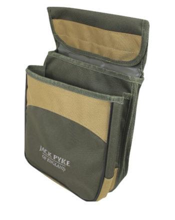 Jack Pyke Sporting Cartridge Pouch Green Double Pocket Belt Loop