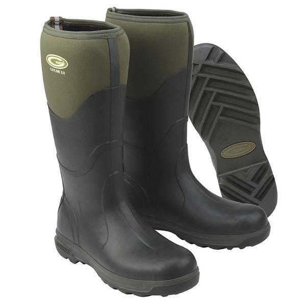 Grubs Tayline 5.0 Moss Green Wellington Boots