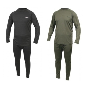 WEB-TEX BASE LAYER - olive green / black leggings / top army thermal underwear