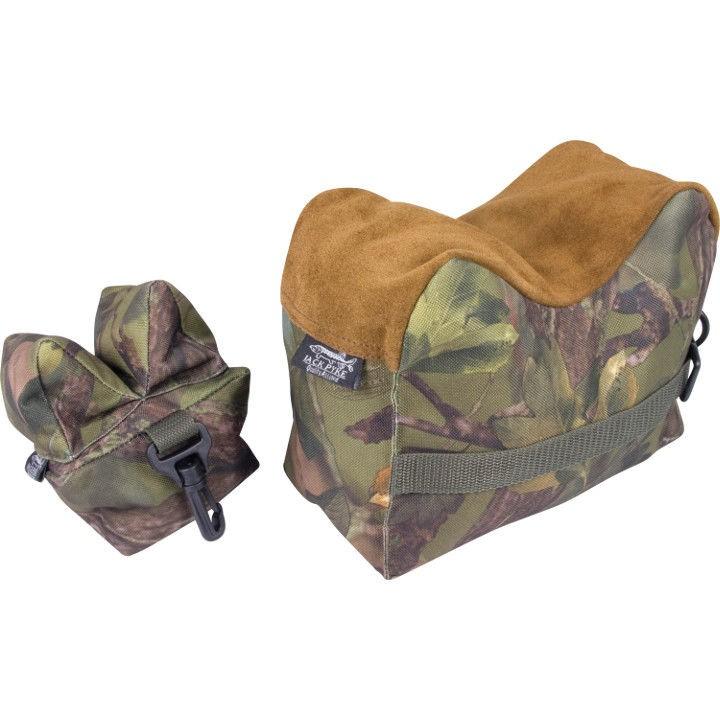 Jack Pyke Rifle Rest Set English Front Rear Bean Bag Gun Stand Shooting