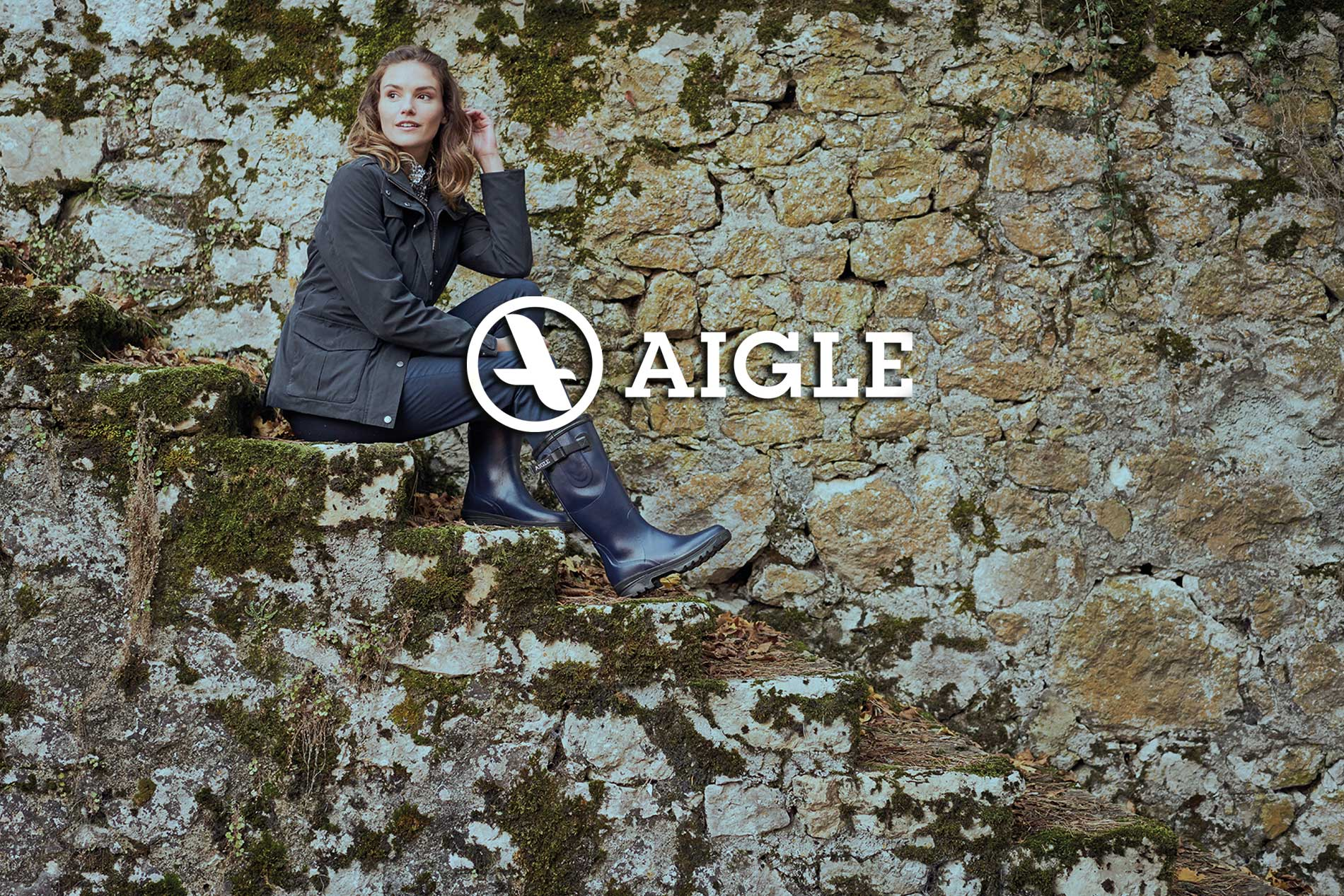 New to Balnecroft Country the aigle boot