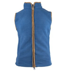 Jack Pyke Ladies Countryman Fleece Gilet Denim