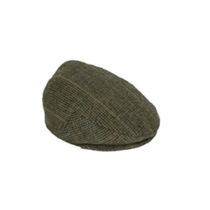 Percussion – Woolen Tweed Hunting Shooting Flat Cap Size 59 cms