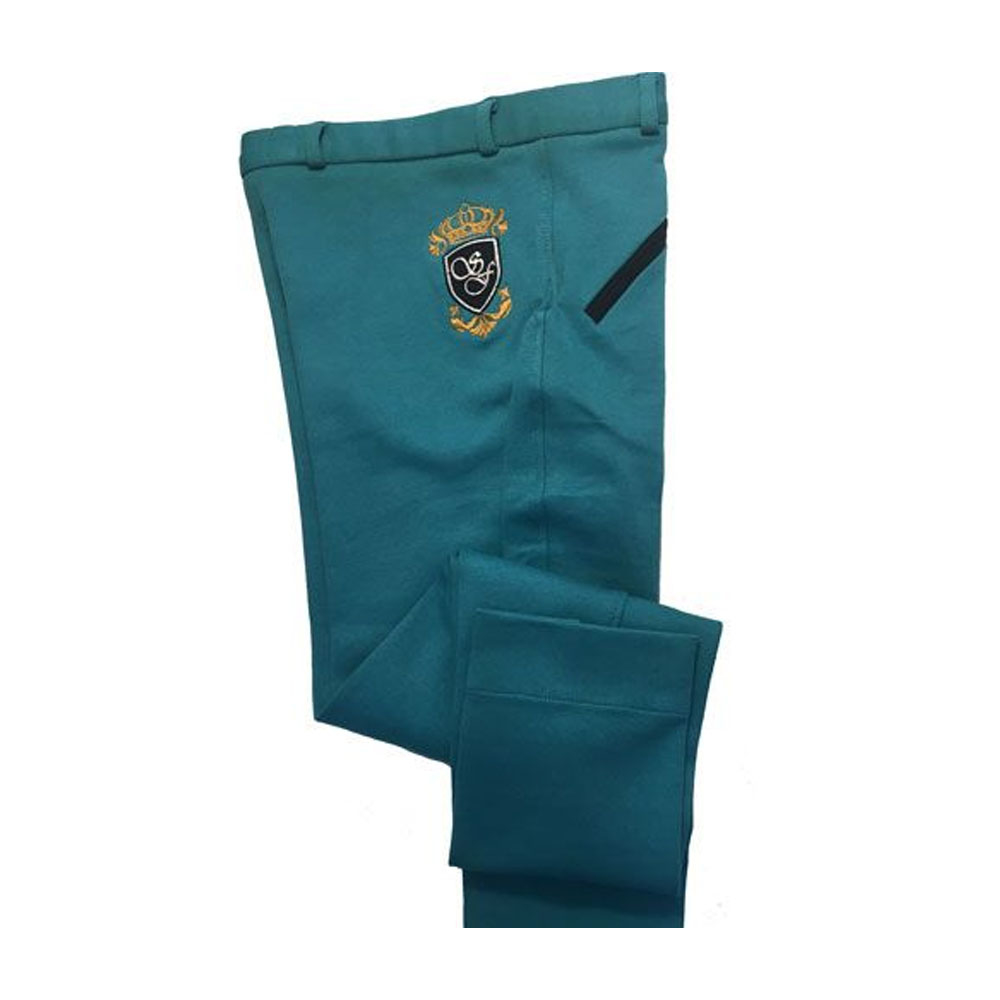 Sherwood Forest Belford Ladies Jodhpurs In Lake Blue/Dark Navy