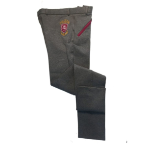 Sherwood Forest Belford Ladies Jodhpurs In Melange Grey and Raspberry