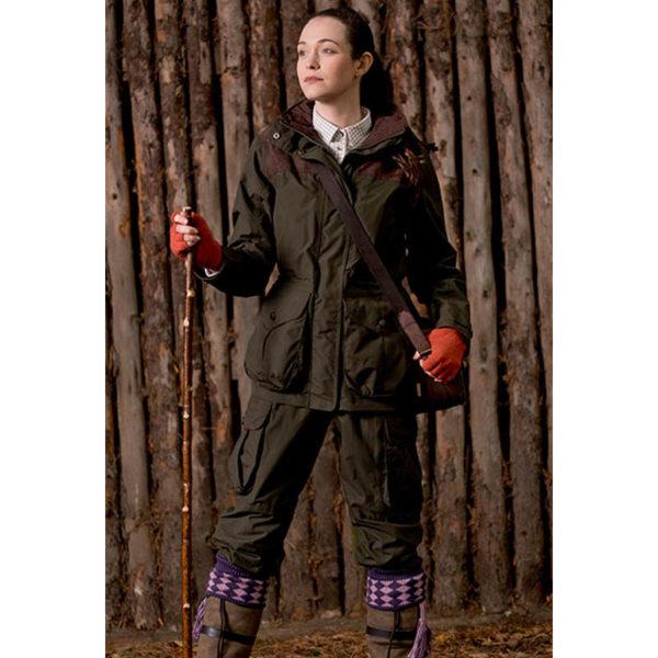 sherwood forest ladies hardwick jacket