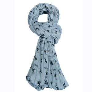 Verney-Carron Cheche Scarf, Shooting, Hunting In Blue