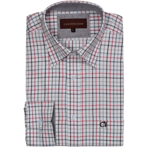 CLUB INTERCHASSE JULIEN – RED Check Shirt