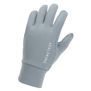 SealSkinz Water Repellent All Weather Ladies Grey Gloves
