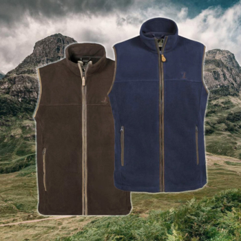 scotland fleece vest percussion