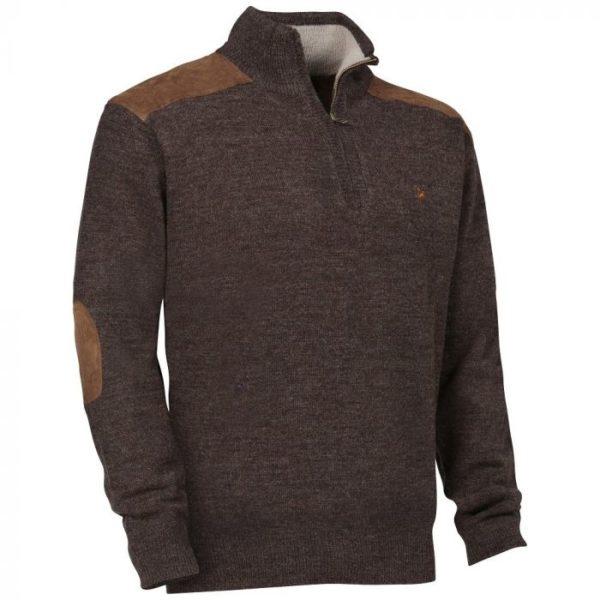 Verney caron zipped pullover