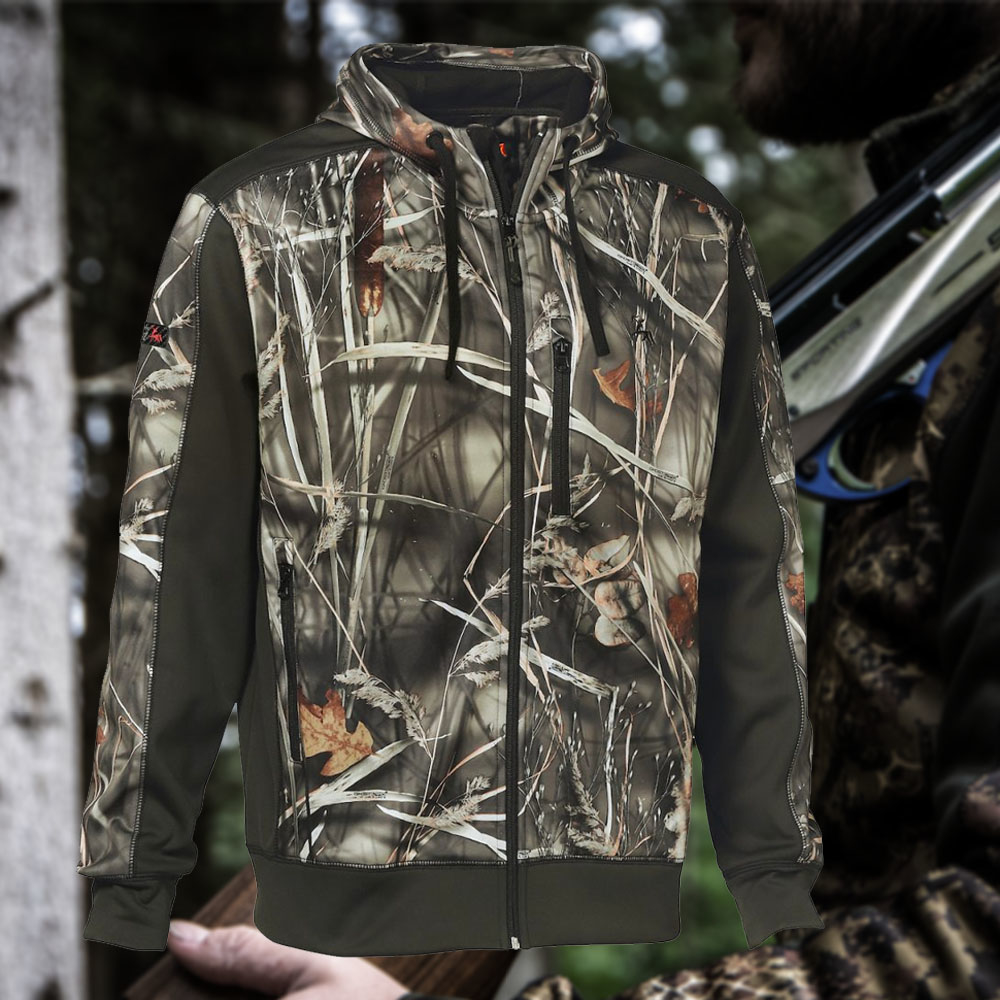 Verney-Carron Wolf Zipped Jacket GhostCamo