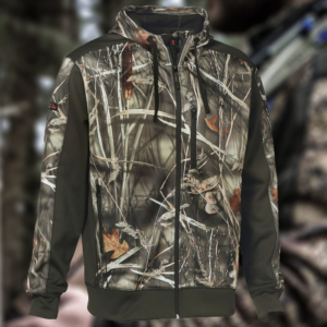 Verney-Carron Wolf Zipped Jacket GhostCamo