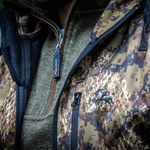 verney carron wolf jacket close up