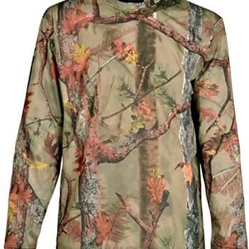 Percussion Long Sleeve T-Shirt Ghost Camo