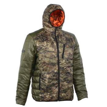 Verney-Carron Reversible Down Jacket Cheetah