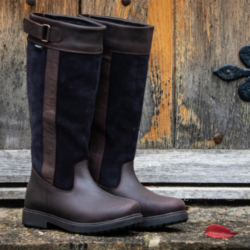Cleveland Ladies Country Boots in navy