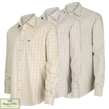 Hoggs Of Fife Inverness Tattersall Shirt