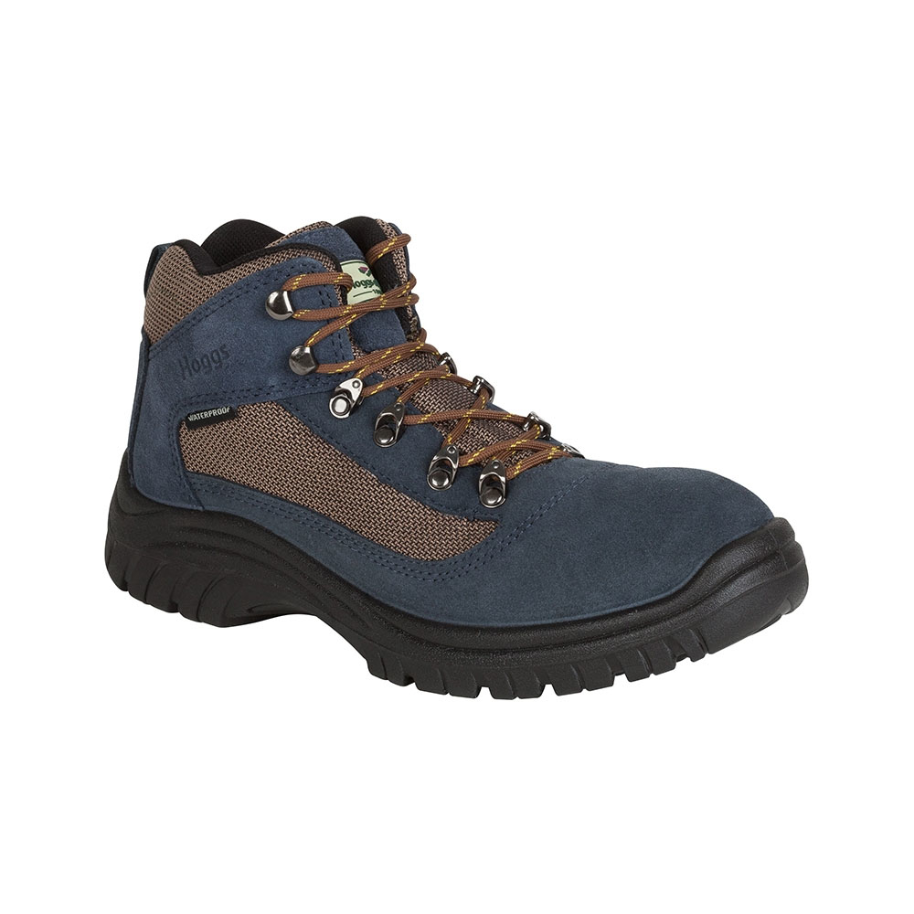 Hoggs Of Fife Rambler Waterproof Hiking Boots French Navy