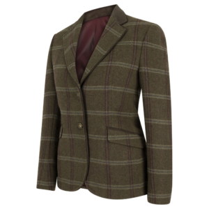 Hoggs of Fife Musselburgh Ladies Tweed Hacking Jacket