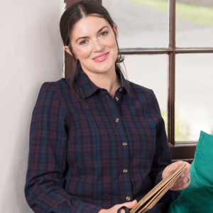 HOGGS OF FIFE ALLY LADIES COTTON SHIRT model