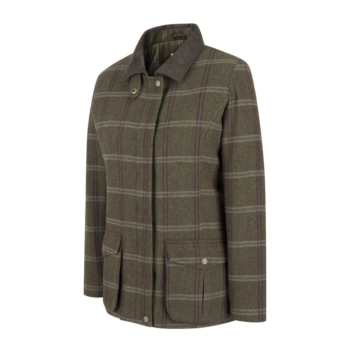 Musselburgh Ladies Tweed Field Coat
