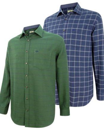 Hoggs Of Fife Shetland Check Shirt