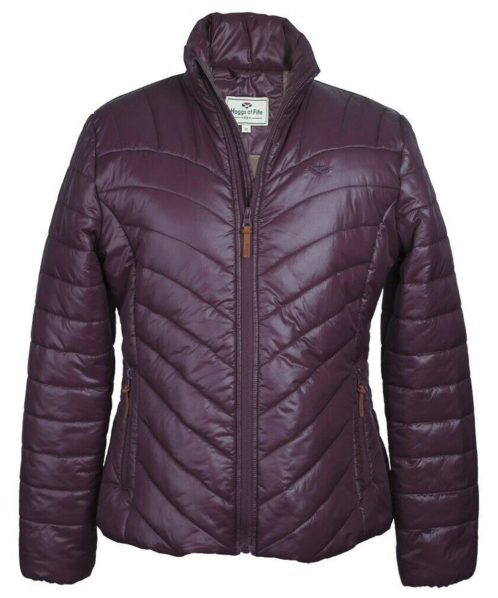 hoggs of fife wilton jacket in plum