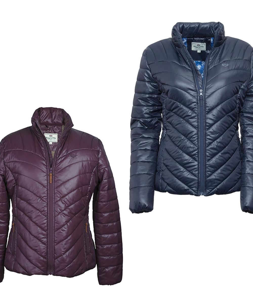 ladies wilton padded jacket