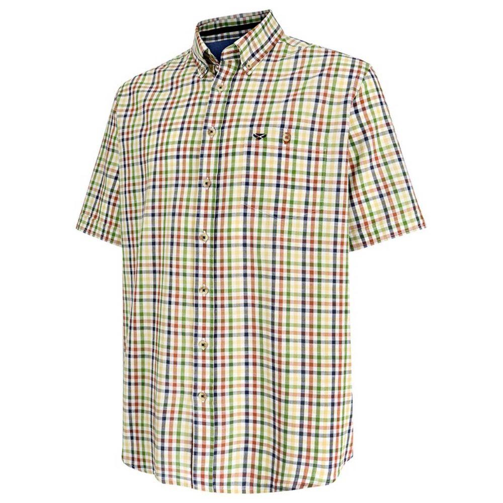 Hoggs of Fife Aberdour Short Sleeve Check Shirt