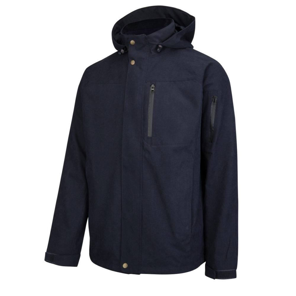 Hoggs of Fife Navy Struther Waterproof Lightweight Jacket