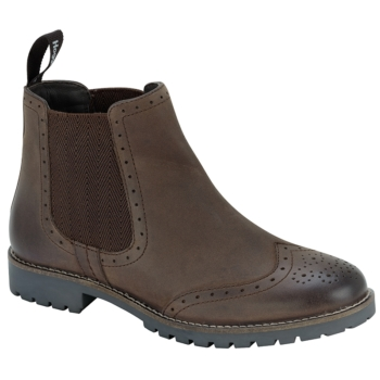Brogue Chelsea Boot