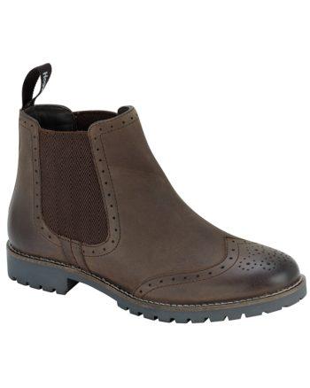Brogue Chelsea Boot