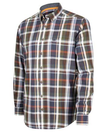 Hoggs of Fife Luthrie Long Sleeve Plaid Shirt