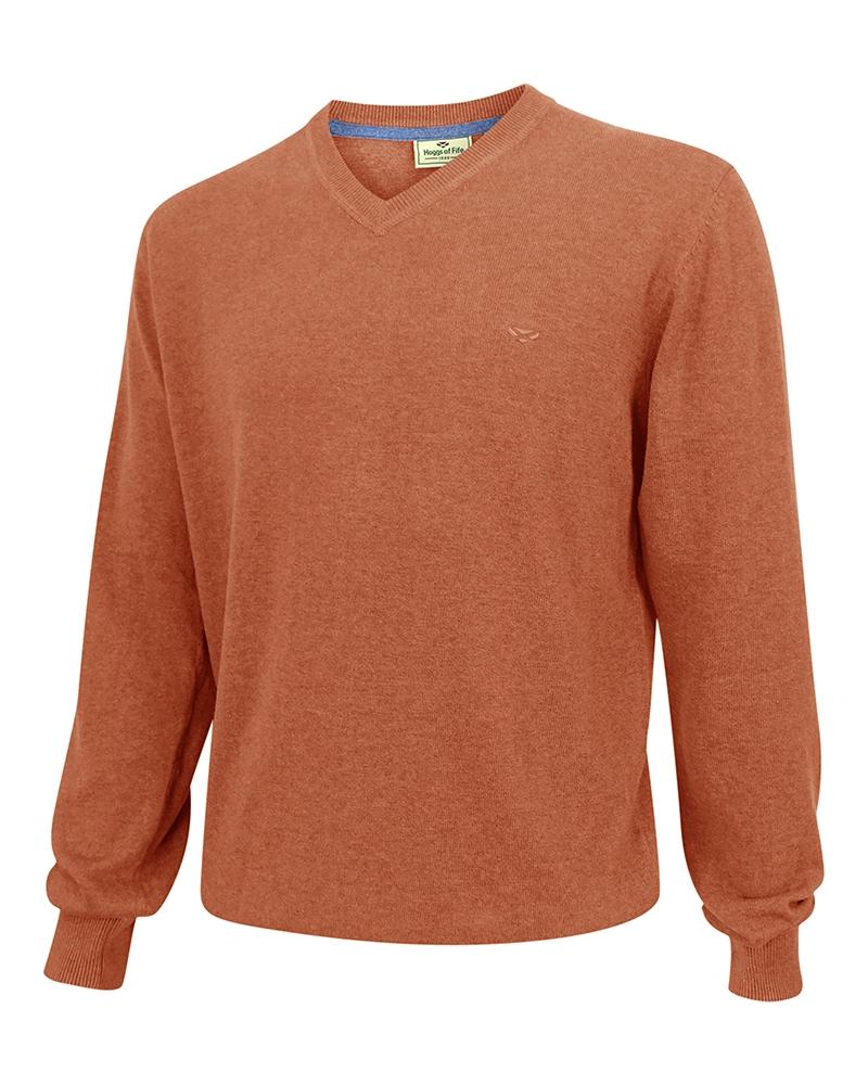 Hoggs of Fife Stirling V-neck pullover