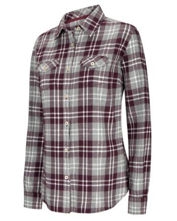 Hoggs of Fife Eilidh Ladies Flannel Shirt